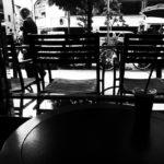 カフェのイス