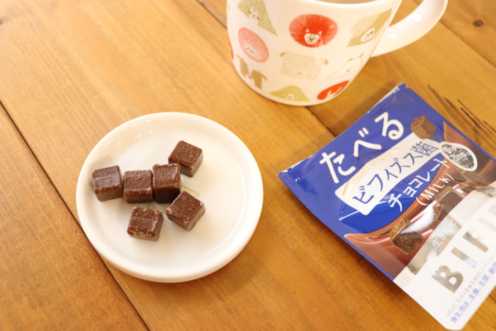 森永製菓 たべるビフィズス菌チョコレート