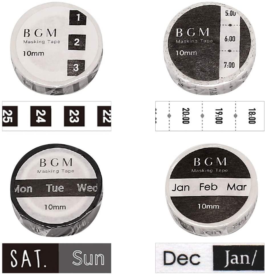 マスキングテープ BGM
