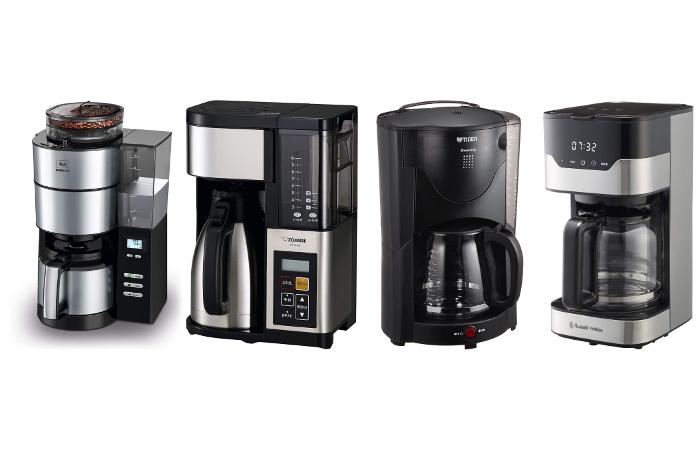 10杯以上のコーヒーメーカー