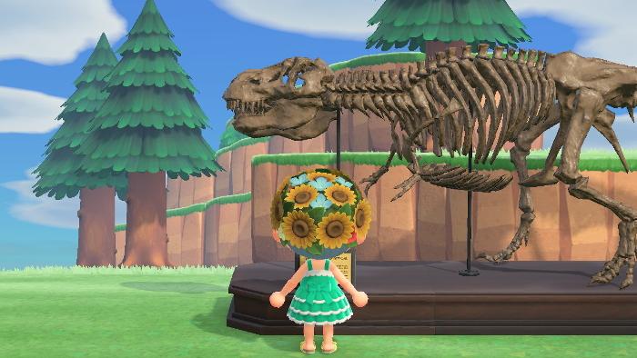 あつ森 恐竜はうごく